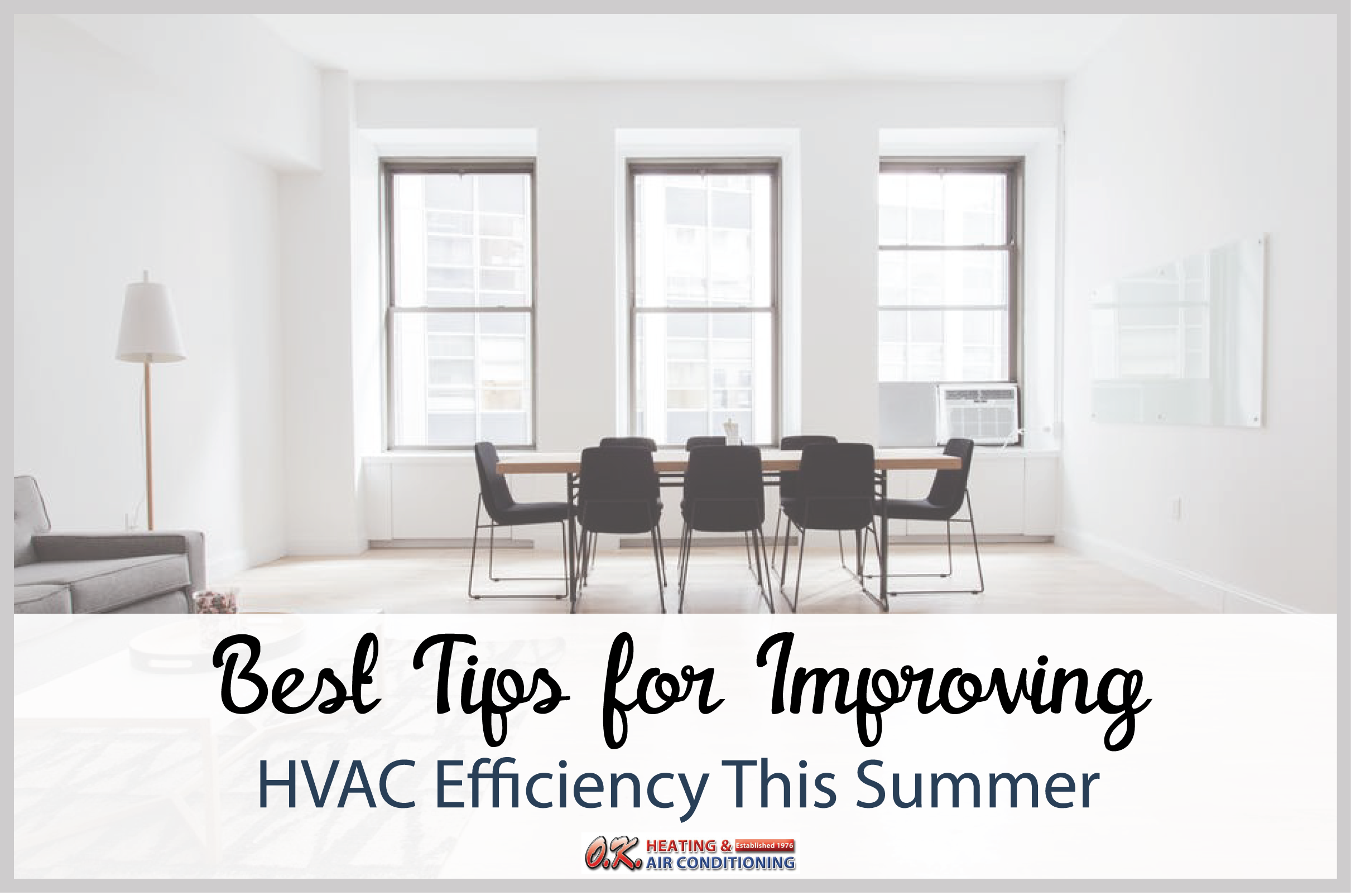 Improve HVAC efficiency