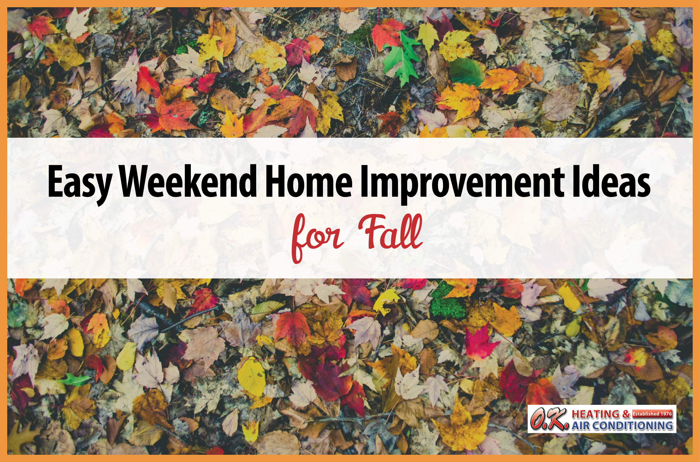 Easy Fall Home Improvement Projects